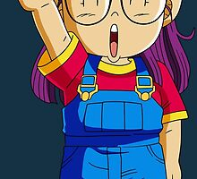 Arale DRAGON BALL by Roes Pha
