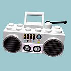 Brick Hop Ghetto Blaster by geekmorris