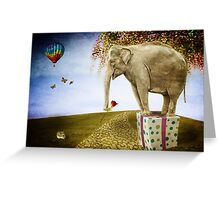 Good things don't always come in small packages Greeting Card