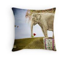 Good things don't always come in small packages Throw Pillow