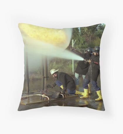 Before the Singe. Throw Pillow