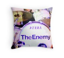 The Enemy Throw Pillow