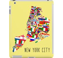 United Flags of New York City iPad Case/Skin