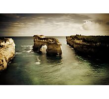 Natural Arch #2, Great Ocean Road, Victoria  Photographic Print