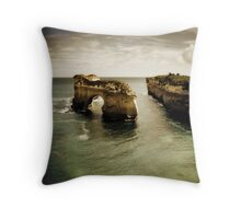 Natural Arch #2, Great Ocean Road, Victoria  Throw Pillow