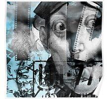 Blue Clown Poster