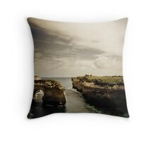 Natural Arch, Great Ocean Road, Victoria Throw Pillow