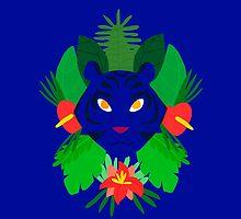 Blue Tiger by Alice Bouchardon