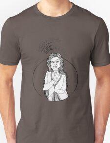 THE queen - B/W Unisex T-Shirt