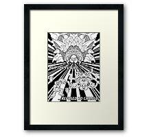 Lavos: All Forms (BLACK)... Framed Print