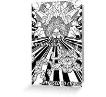 Lavos: All Forms (BLACK)... Greeting Card