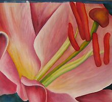 Lilly Pink # 110 by Rebecca Wadle
