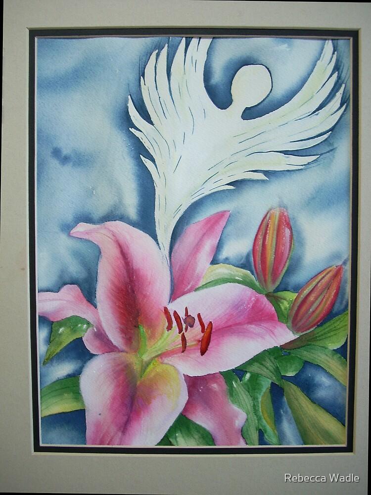Flower Spirit II # 131 by Rebecca Wadle