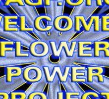 Flower Power 2007 Sticker