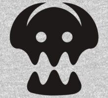 HTTYD2 skull (blk) (original) by toastilish