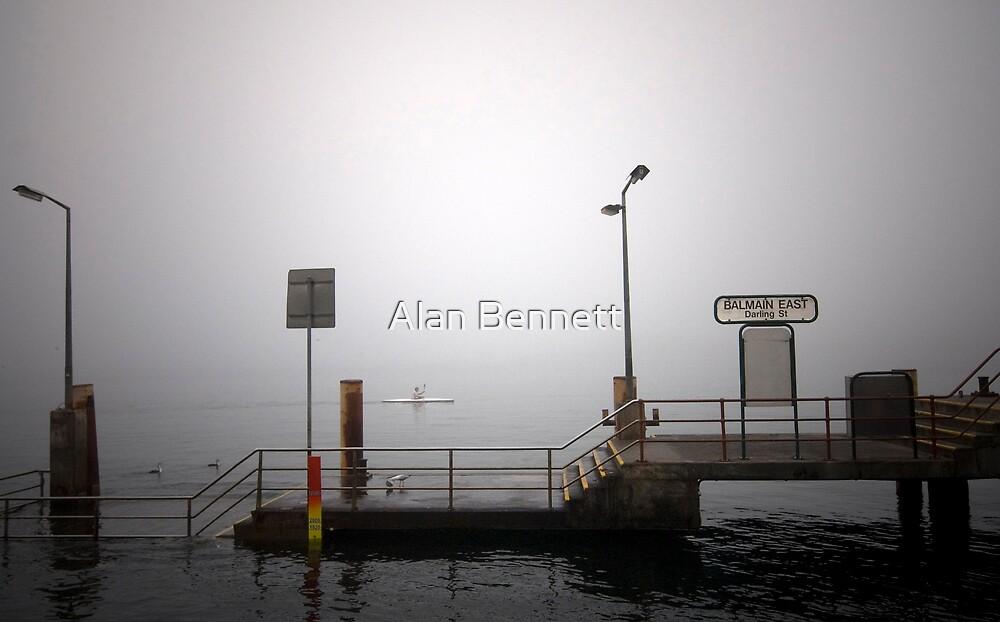 Fog Stops Ferries by Alan Bennett