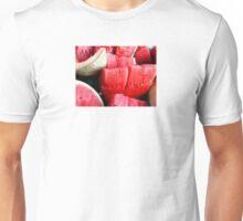 JUICY WATERMELON AND CANTALOUPE FRUIT SALAD Unisex T-Shirt