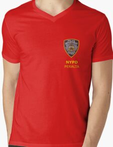 Peralta Mens V-Neck T-Shirt
