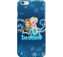 Let it Snow iPhone Case/Skin