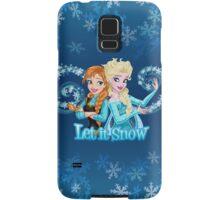 Let it Snow Samsung Galaxy Case/Skin