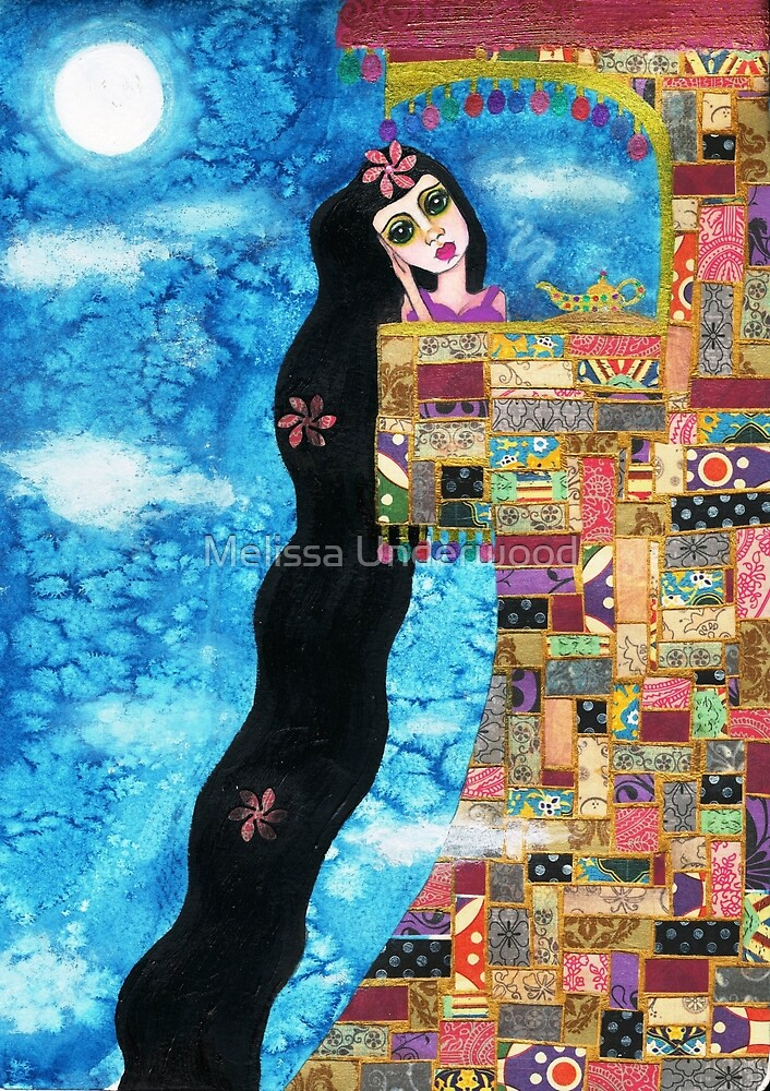 Rapunzels Moon by Melissa Underwood