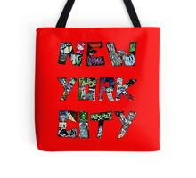 New York City Street Art Tote Bag