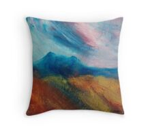 Eildon Hills  Throw Pillow