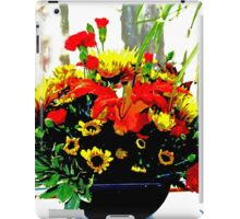 A Bouquet of Thanksgiving Wishes iPad Case/Skin