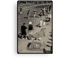 London Beach Canvas Print