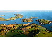 Strangford lslands Photographic Print