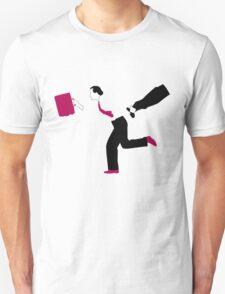Take the money and run Unisex T-Shirt