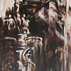 The Ross Fountain Under Edinburgh Castle by Nicola  Cairns
