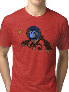 Monkey In Space Tri-blend T-Shirt