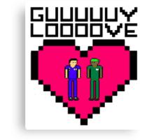 GUY LOVE Canvas Print