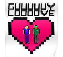 GUY LOVE Poster