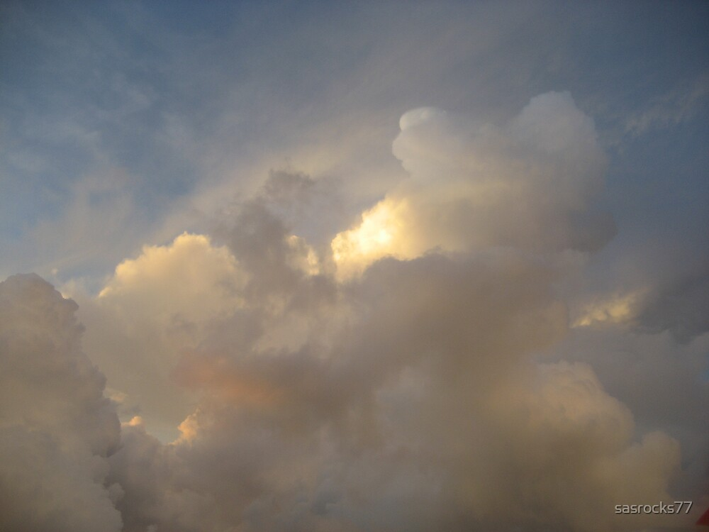 sunrise at 20000 feet by sasrocks77