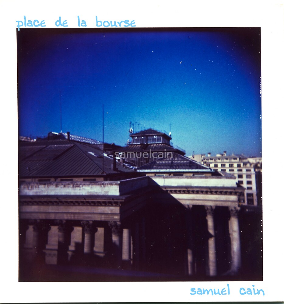 Place de la bourse by samuelcain
