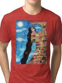 Rapunzels Moon Tri-blend T-Shirt