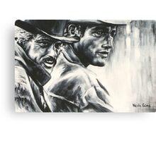 Butch & Sundance Canvas Print