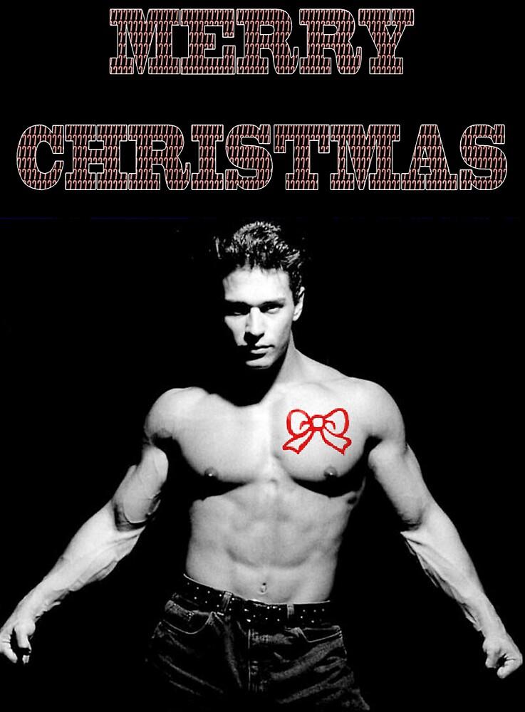christmas card man by CheyenneLeslie Hurst
