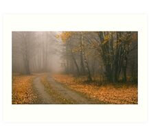 The Bleakness of October Art Print
