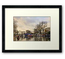Little Venice - London Framed Print