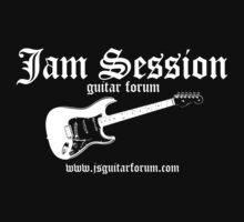Jam Session Scot Kroeker Dark TShirt 1 by DLKeur