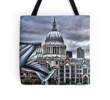 St Paul's : art render Tote Bag