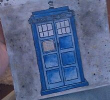 Dr who iphone case  by dudddd