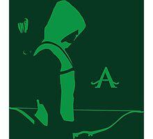 Arrow in the Dark Photographic Print