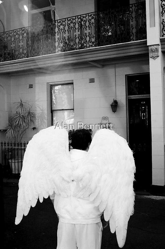 Standing Angel by Alan Bennett