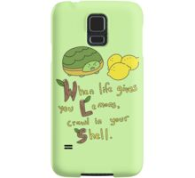 Bee and Puppycat: Crawl in your Shell Samsung Galaxy Case/Skin