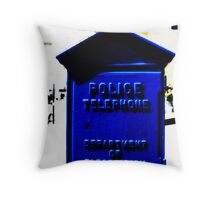 Help ! Police! # 02 Throw Pillow