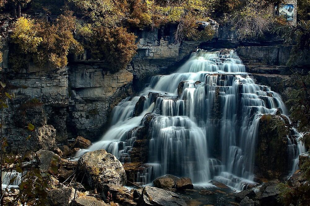 Inglis Falls by ajnphotography